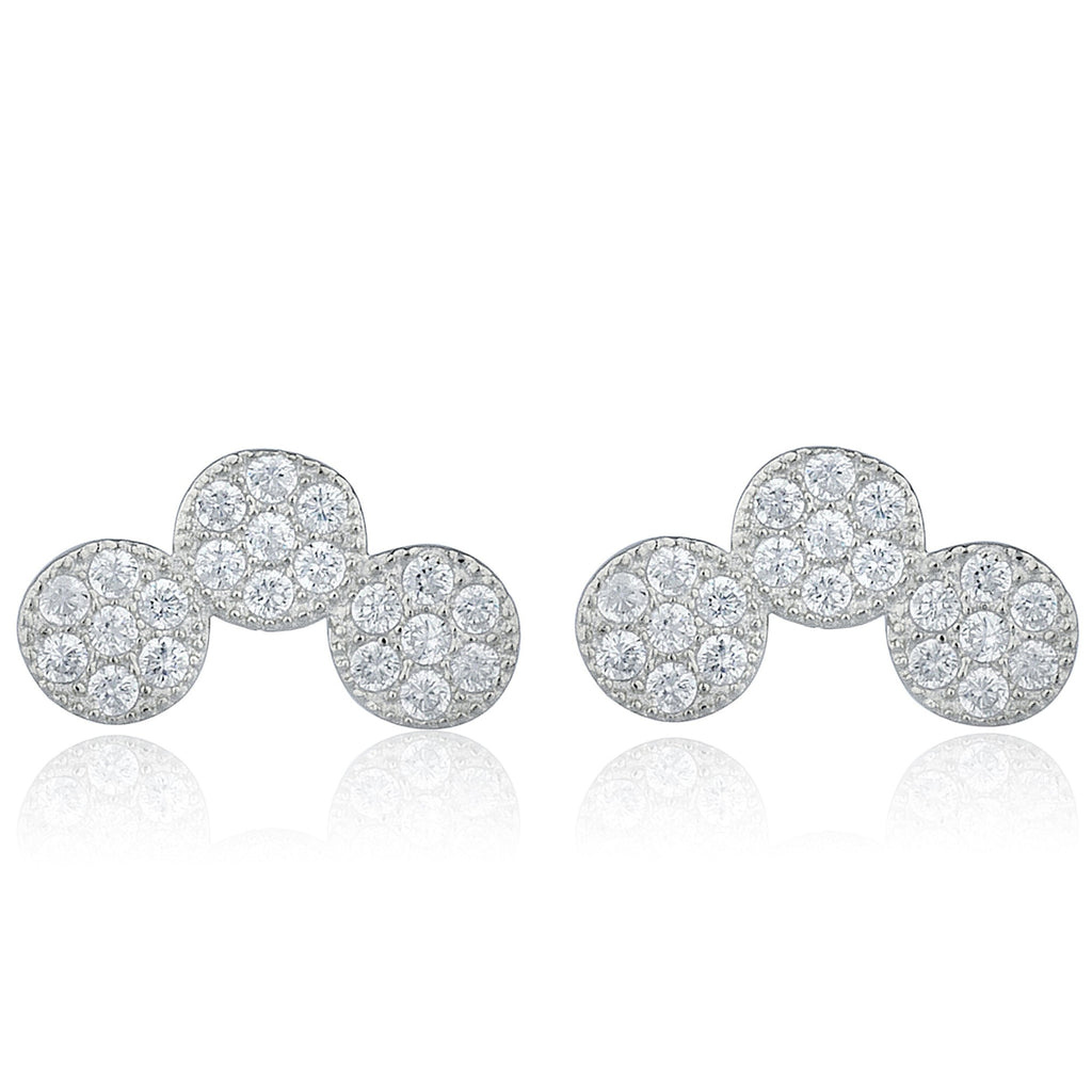 Real 925 Sterling Silver Cz Stone...