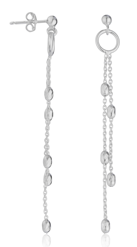 Real 925 Sterling Silver Dangle Cable...