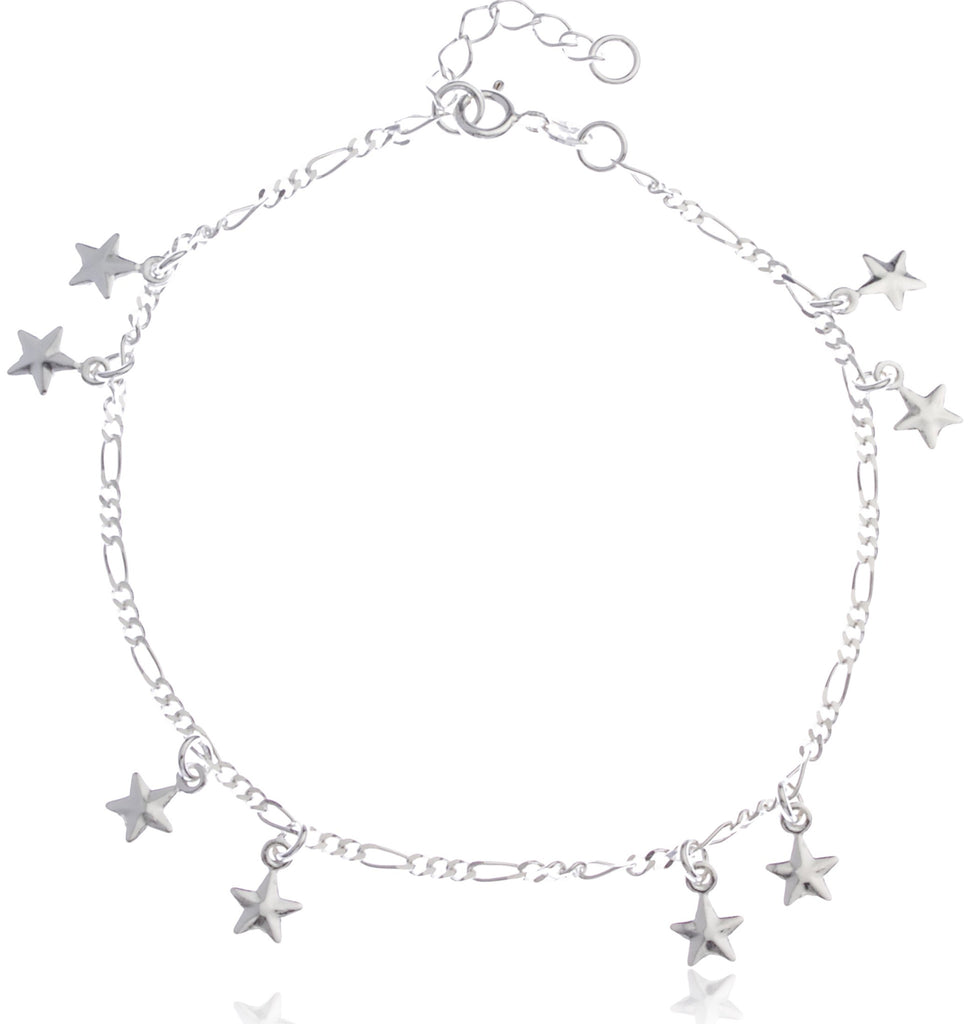 Real 925 Sterling Silver Double Stars...