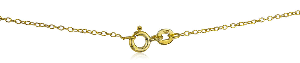 Real 925 Sterling Silver Goldtone Mini...