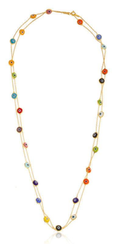 Real 925 Sterling Silver Goldtone Multicolor...