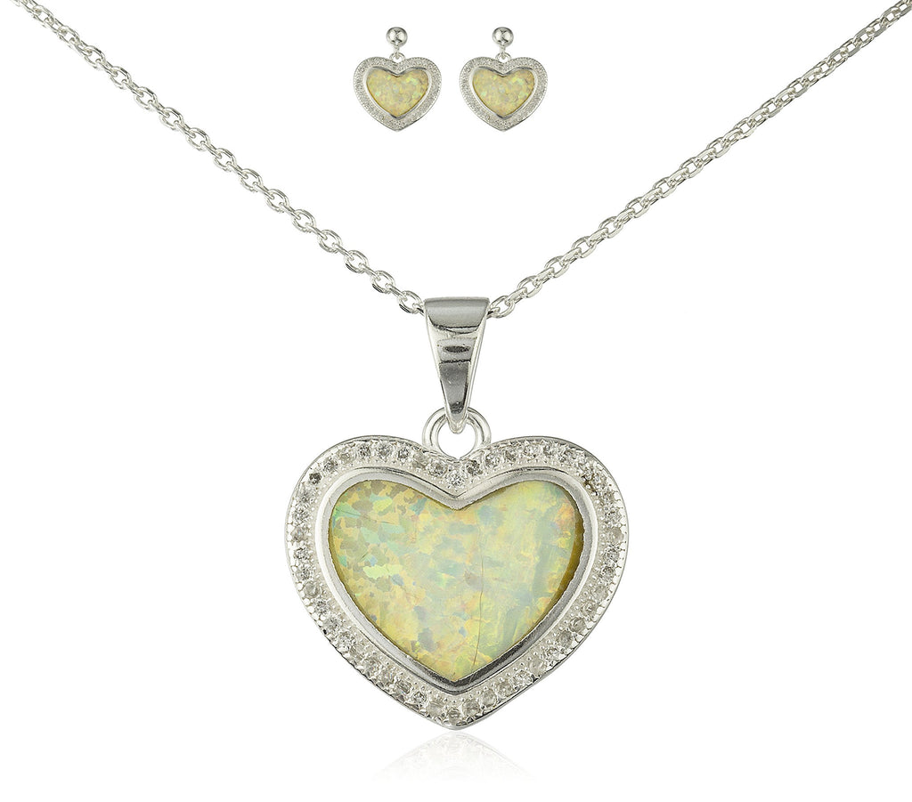 Real 925 Sterling Silver Heart Created...