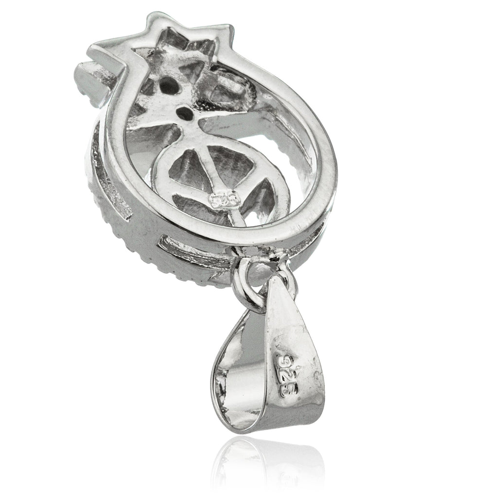 Real 925 Sterling Silver 'Peace In...