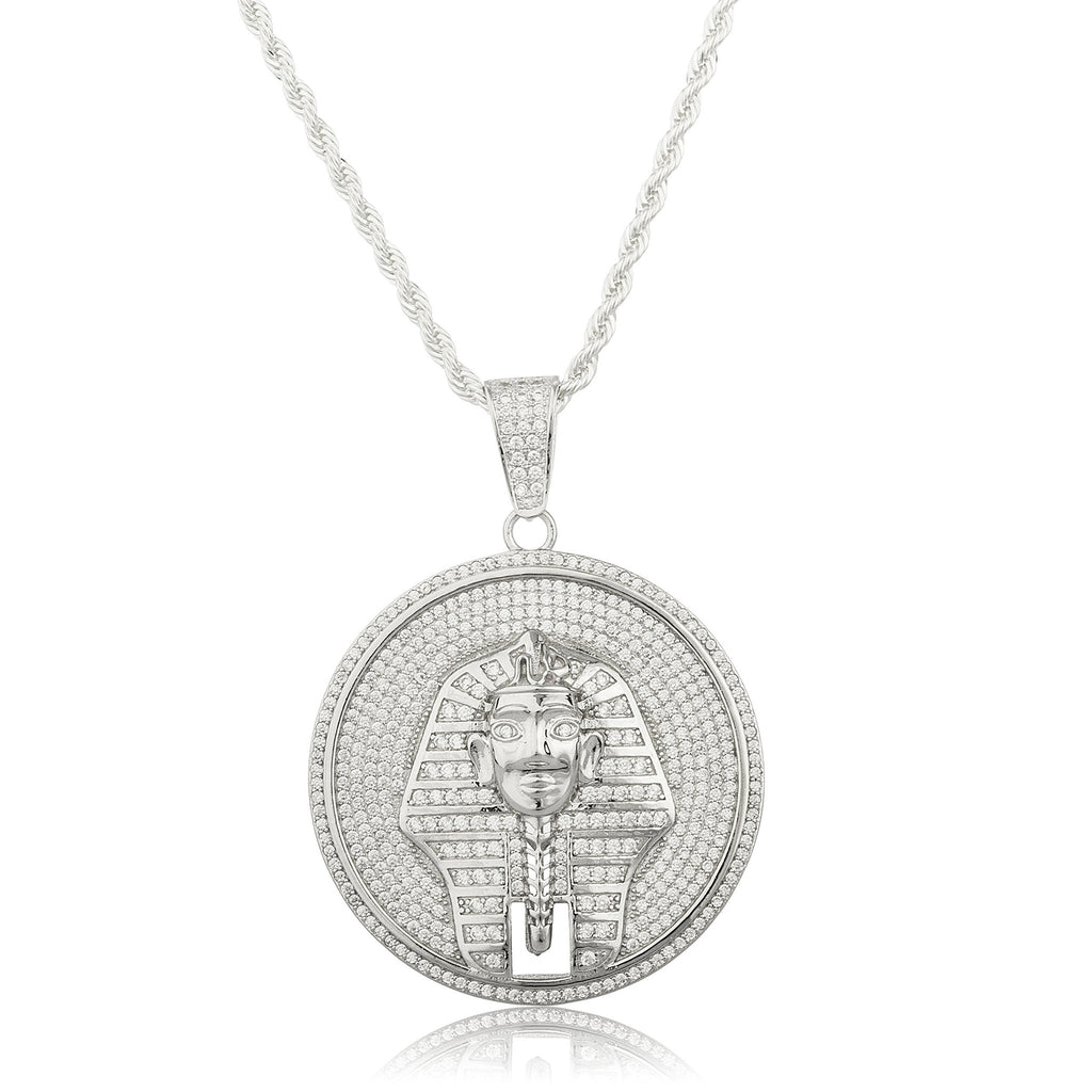 Real 925 Sterling Silver Pharaoh Disc...