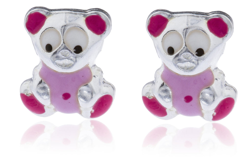 Real 925 Sterling Silver Pink Teddy...