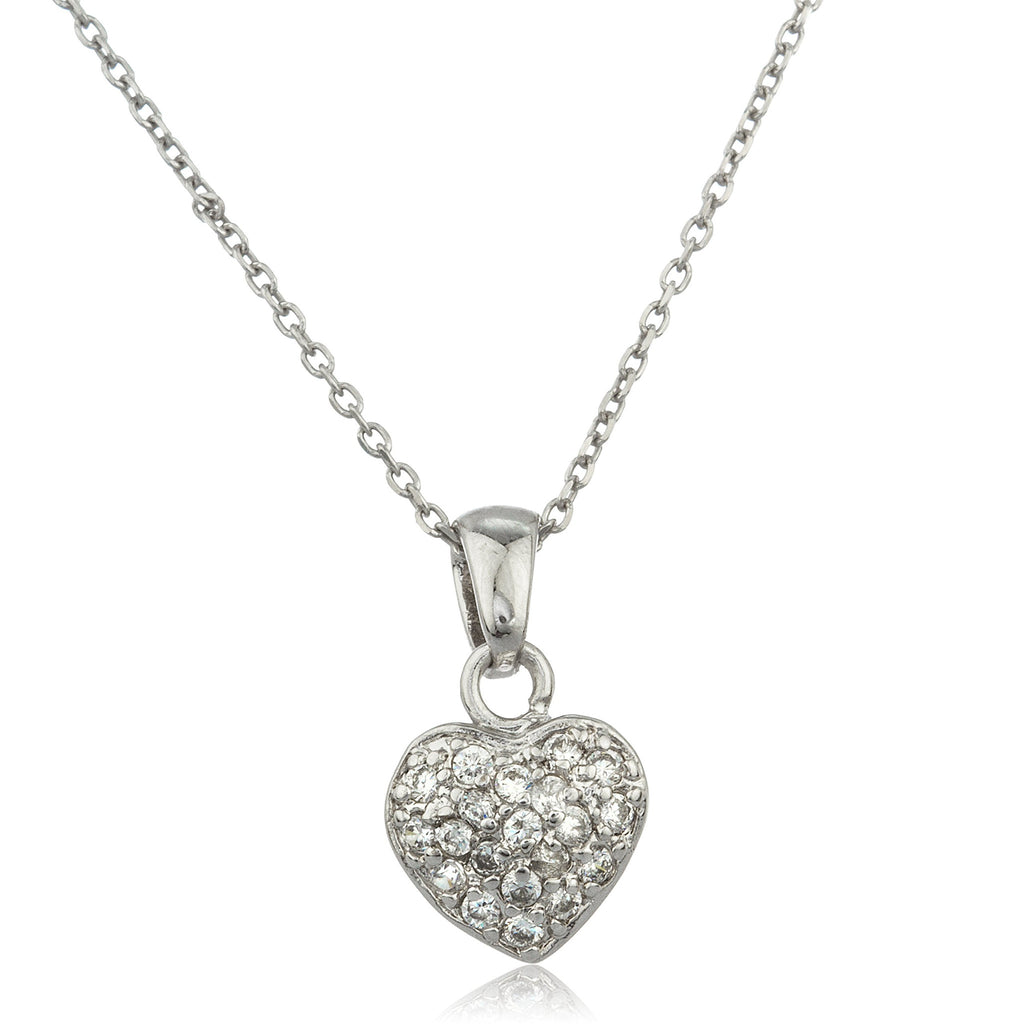 Real 925 Sterling Silver Small Heart...