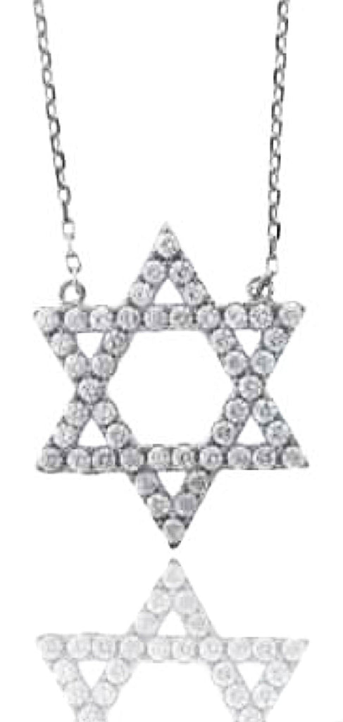 Real 925 Sterling Silver Small Jewish...