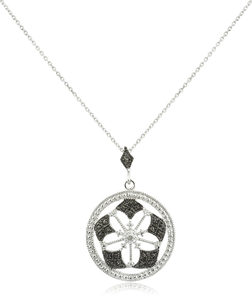Real 925 Sterling Silver With Diamond...