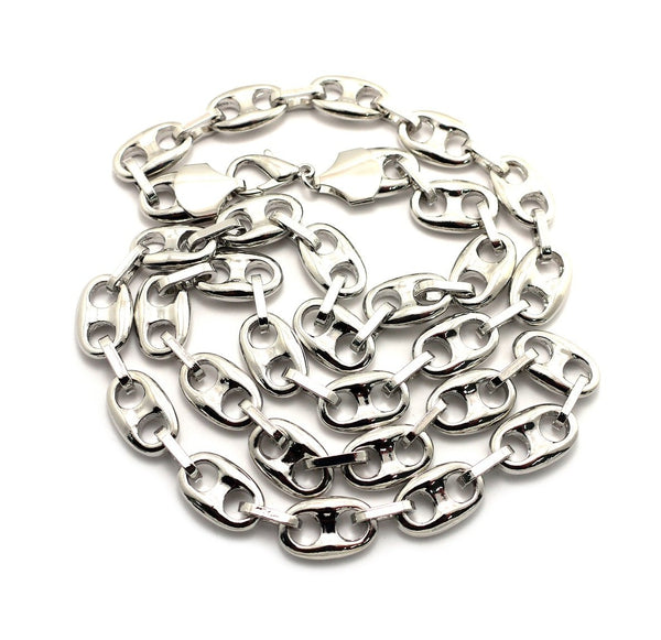 Silvertone G-Link 13mm 30 Inch Link Chain
