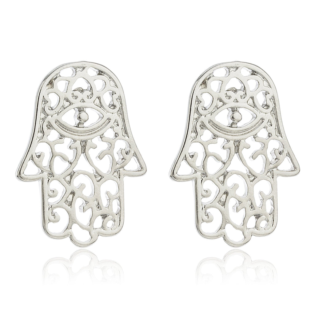 Hamsa Earrings Jewelry Set