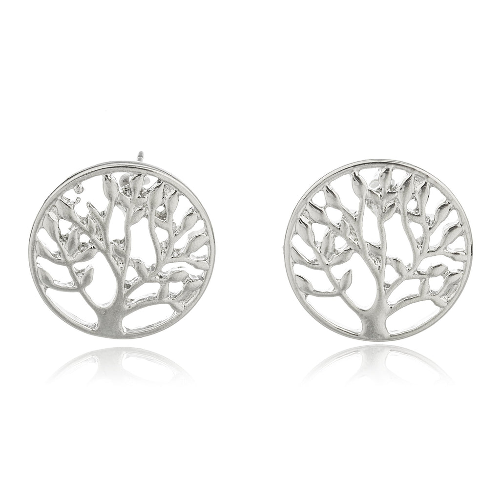 Silvertone Tree Of Life With Inspirational...