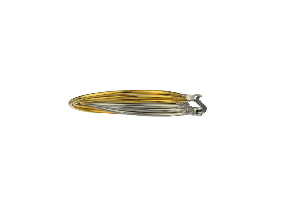 Stainless Steel Layered Spiral 1 Inch...