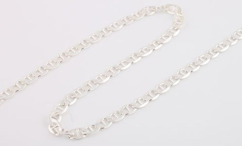 Sterling Silver 30 Inch G-link Chain Gauge 150 Necklace