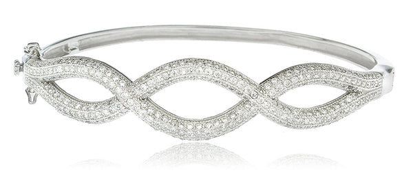 Braided Design Bridal Bangle