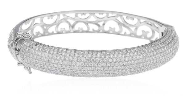 Heart Design Bridal Bangle