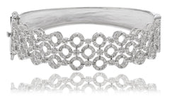 Multiple Circle Design Bridal Bangle