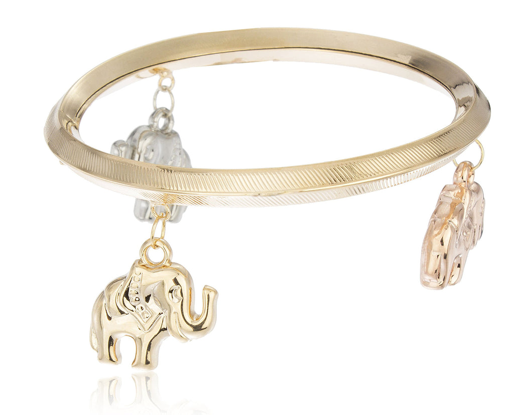 Two Year Warranty Gold Overlay Bangle...