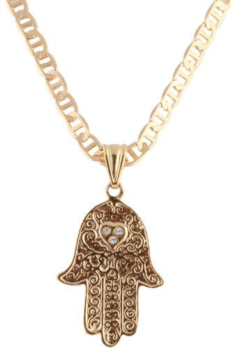 Two Year Warranty Gold Overlay Hamsa...