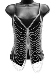 Vest Style Body Chain Necklace