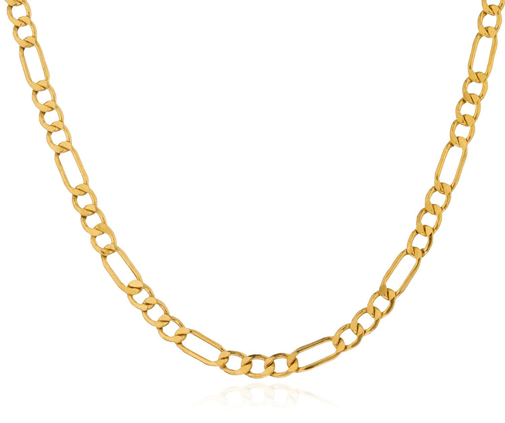 Golden Figaro Chain 4.5mm