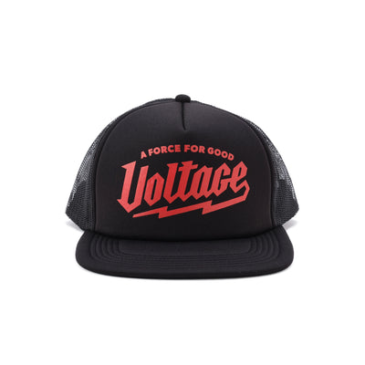 Foam Trucker Hat - Black/Red