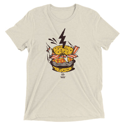 Electric Burger Shirt Tri-Blend