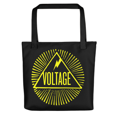 Voltage Illuminati Tote (Gold)
