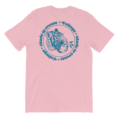 Made to Create Lady Tiger, Tiger Lady Blue Tee