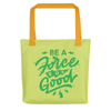 Force for Good Tote (Yellow & Black)