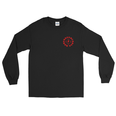 Skate Shop Long Sleeve Shirt (Red)