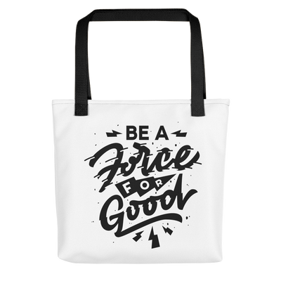 Force for Good Tote (White)
