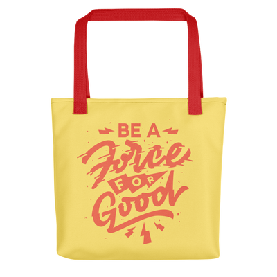 Force for Good Tote (Yellow & Red)