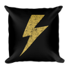 Yellow Bolt Pillow