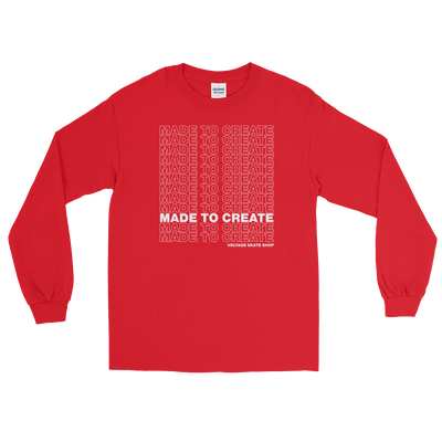 Made to Create Long Sleeve (White)