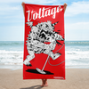 Monster Beach Blanket (Red)