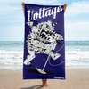 Monster Beach Blanket (Navy)