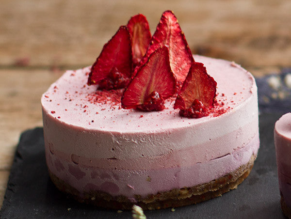 Triple Berry Mousse Cake