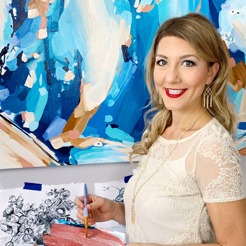 Real Women, Living Beautifully: Houston Artist Rylie Caldwell