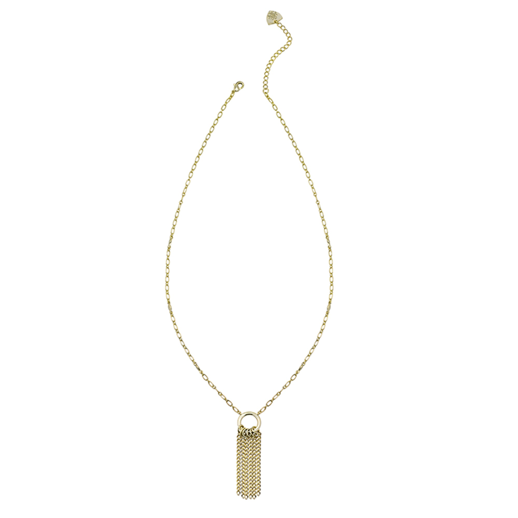 Grace Mini Tassel Necklace