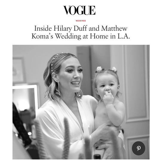 Hilary Duff in Helena Quinn for VOGUE