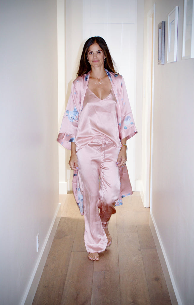 Kristina Stybel, Mother's Day, Helena Quinn Silk Robes
