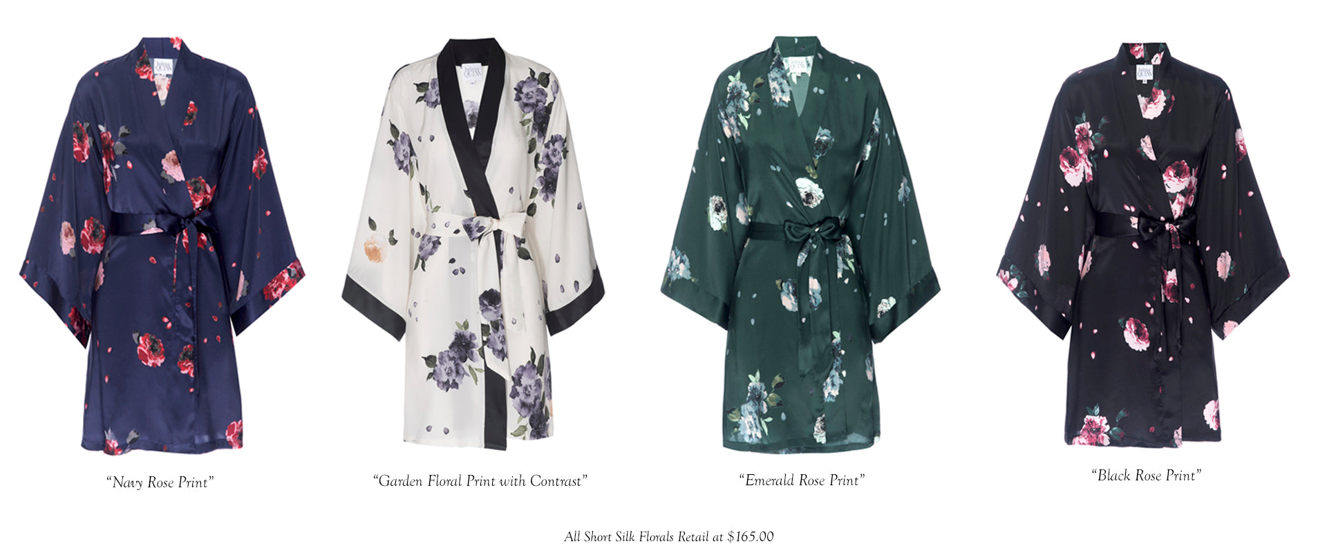Helena Quinn Holiday Silk Robes