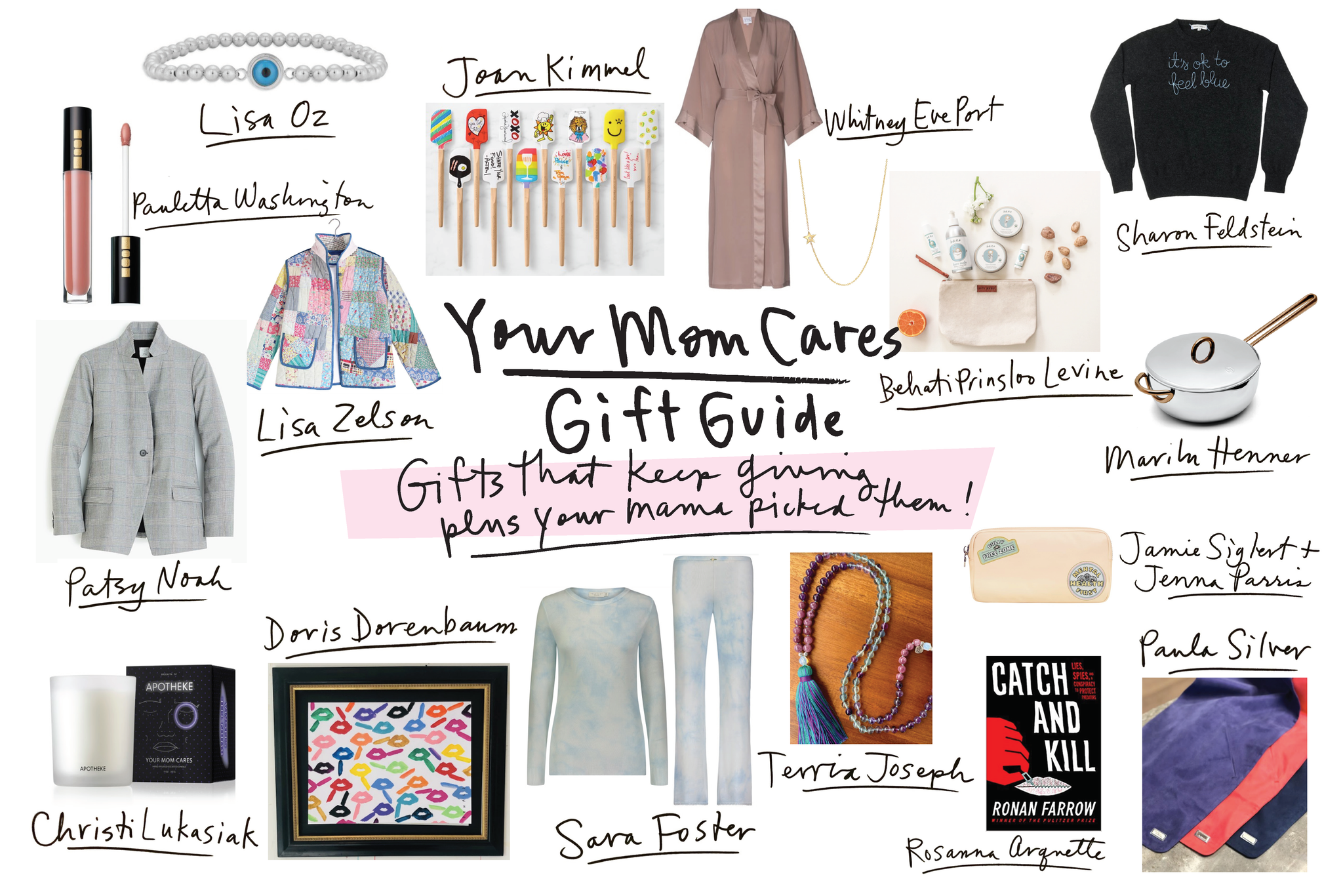 YourMomCares Holiday Guide // Helena Quinn