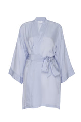 "BEST SELLER: ""Ice Blue"" Silk Robe"