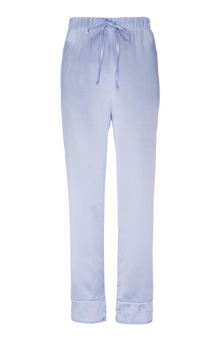 "PRE ORDER New: ""Joey"" Pajama Pant in 'Ice Blue' Silk Charmeuse"