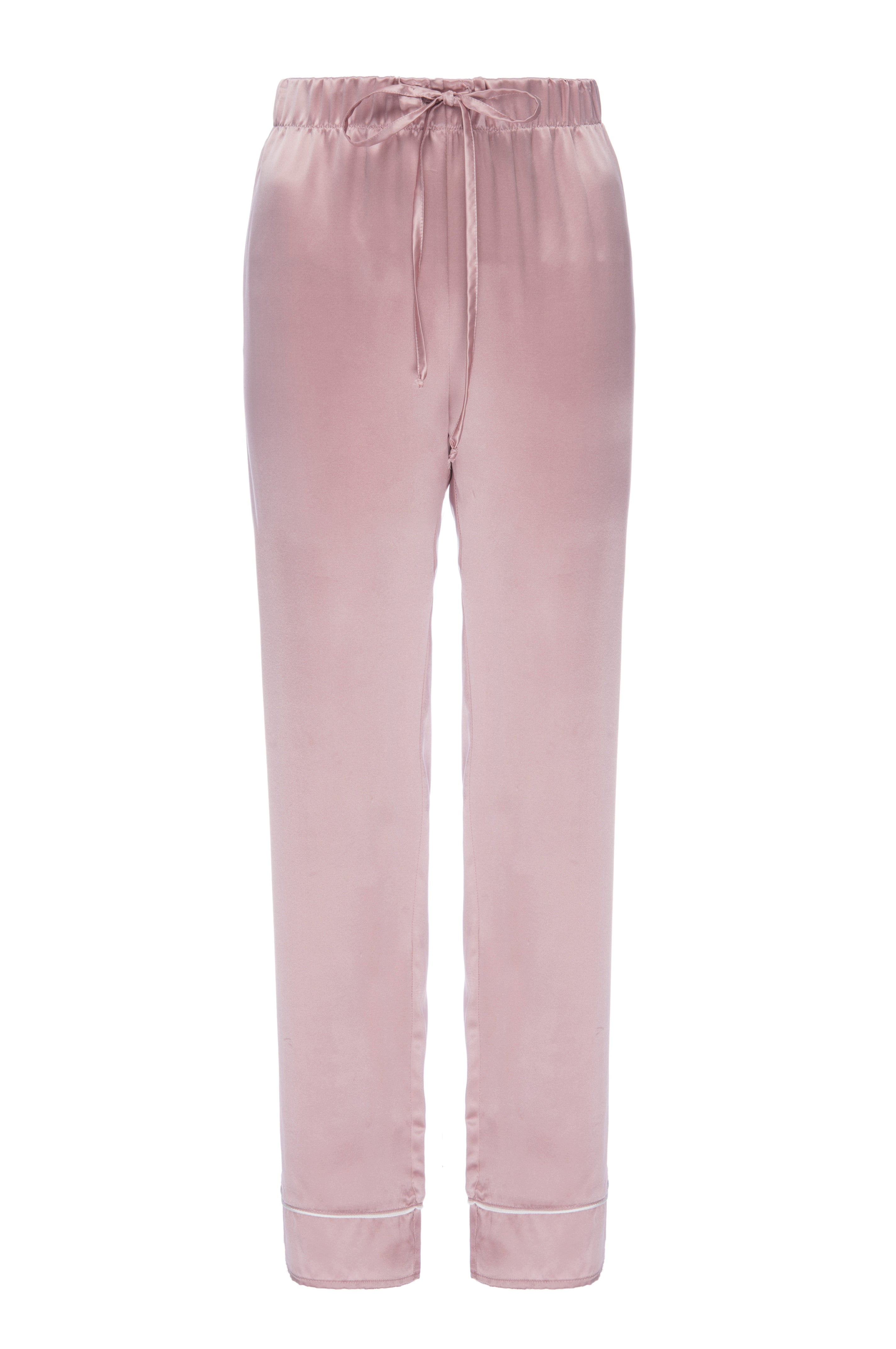 "NEW: ""Joey"" Pajama Pant in 'Rose Gold' Silk Charmeuse"