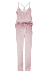 BEST SELLER: Tank and Pant Set in 'Rose Gold' Silk Charmeuse