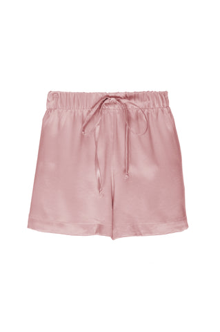 "NEW: ""Sammy"" Pajama Short in 'Rose Gold' Silk Charmeuse"