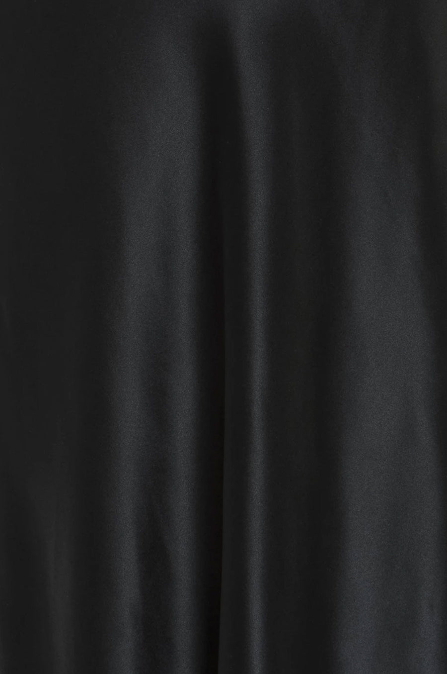 Silk Charmeuse 'Katie' Bias Slip: Black