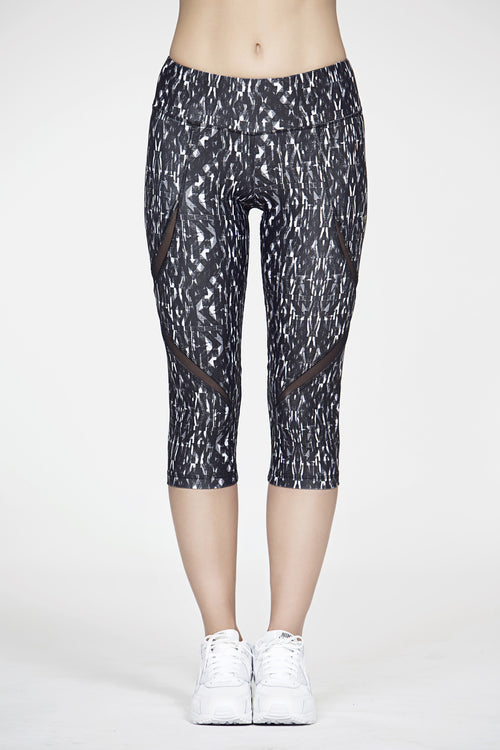 Graphic Moret Crop Legging, Bottoms, TITIKA ACTIVE